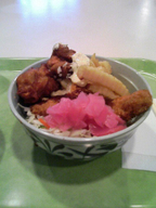 Karaage_sakana_potate_fry_don_gakus