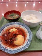 Ankake_tamago_set_gakushoku