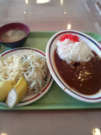 Hayasi_curry_set_gakushoku