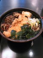 Maitake_ika_ten_soba_100118