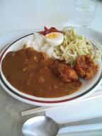 Curry_karaage_set_gakushoku
