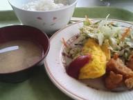 Karaage_omuretu_teishoku_gakushoku_1