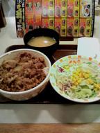 sukiya_gyuudon_salad_set0923